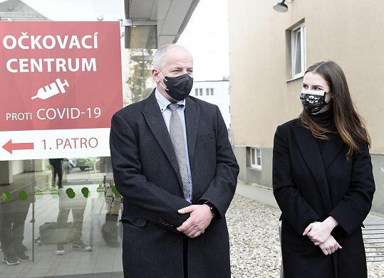 Na akci byl přítomen i bývalý ministr zdravotnictví Roman Prymula.