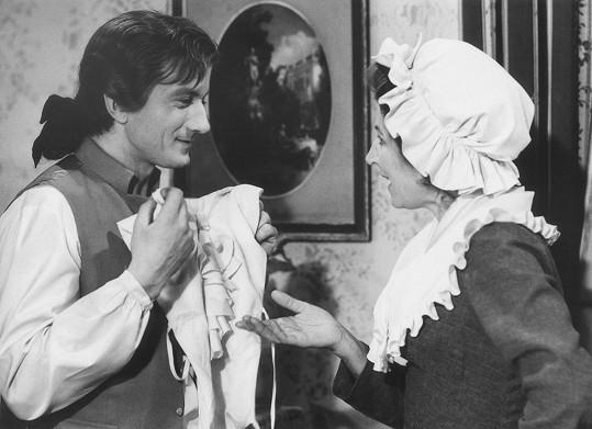 Radoslav Brzobohatý a Nina Popelíková si společně zahráli v seriálu F. L. Věk.