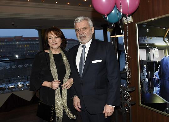 S manželem Petrem Štěpánkem