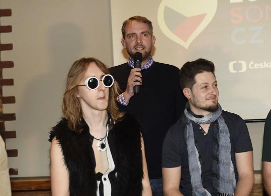 Libor moderoval tiskovku, na které se představilo šest finalistů, kteří se utkají o vítězství v národním kole Eurovize. Už tradičně bude provázet i živým přenosem.