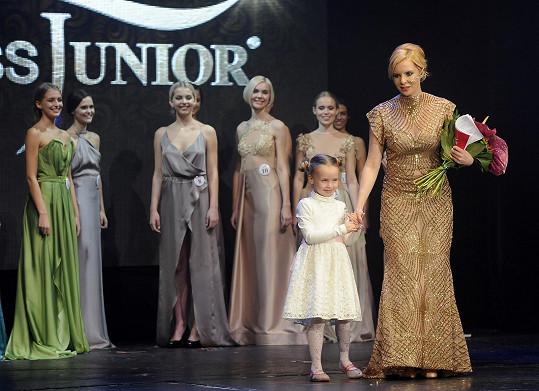 Dcera ji překvapila během galavečera na pódiu.
