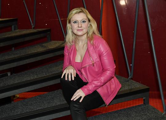 Gábina Urbánková na konkurzu na muzikál Čarodějka