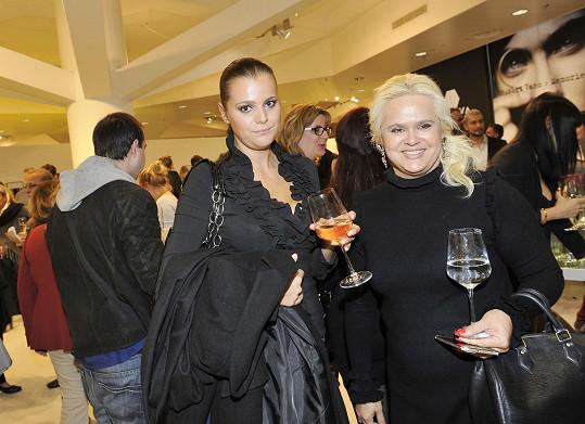 Ornella Koktová s maminkou