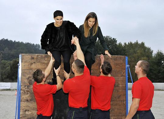 Všichni si vyzkoušeli i různé soutěžní disciplíny.