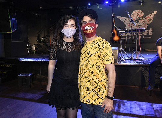 Radek s manželkou Veronikou