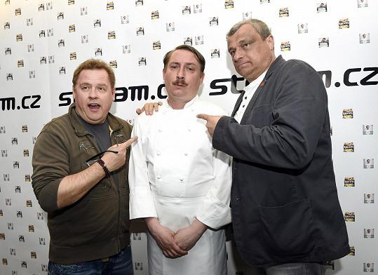 Provokativně snobská cooking show vznikla pod záštitou Romana Vaňka.