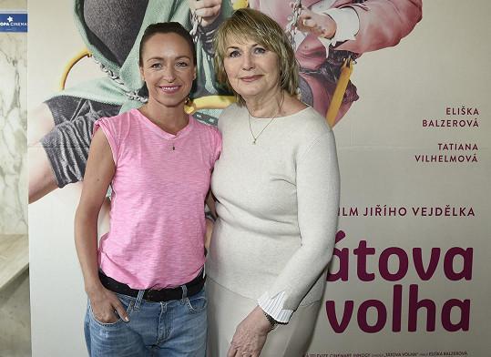 S filmovou maminkou Eliškou Balzerovou