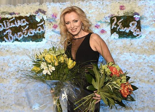 Kateřina Brožová oslavila 50. narozeniny.