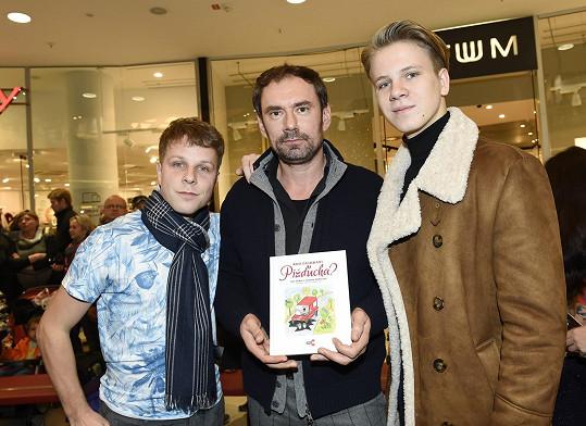 I aktuální soutěžící Emanuele Ridi a Zdeněk Piškula