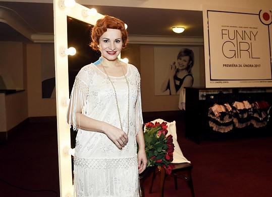 Monika Absolonová se na scéně divadla Studio DVA poprvé promění ve Fanny Briceovou 24. února.