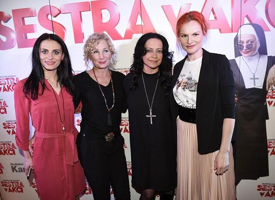 Lucie s Markétou Procházkovou, Světlanou Nálepkovou a Ivou Pazderkovou si zahrají v muzikálu Sestra v akci.