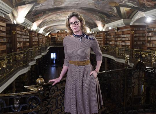 Irena Maňáková je praprapravnučkou Václava Bolemíra Nebeského.