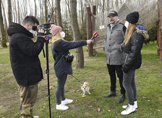 Bohuš Matuš a Lucie při rozhovoru se Super.cz.