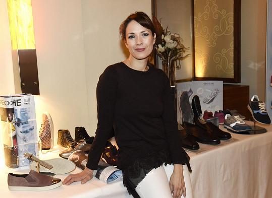 S Terezou jsme si povídali na prezentaci italské značky obuvi, kam si přišla prohlédnout nové trendy.