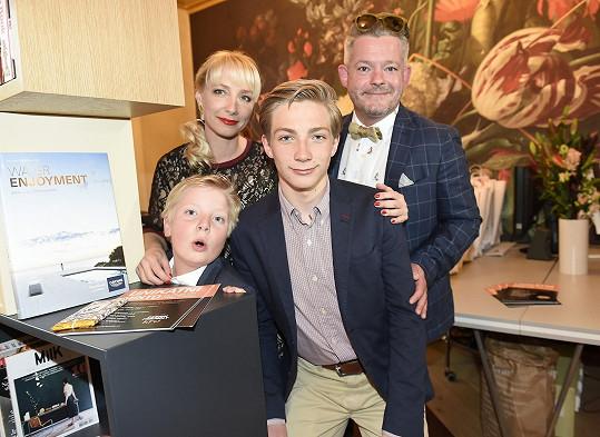 Rodinné foto Hámových