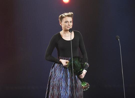 Veronika získala cenu pro umělce do 33 let.