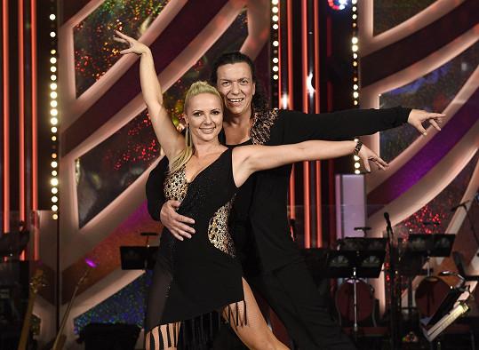 Richard Genzer a jeho tanečnice Jana Zelenková