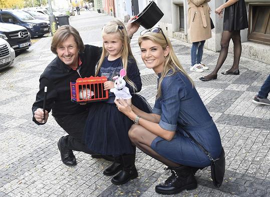 Dcerka Ivety Vítové slavila narozeniny.
