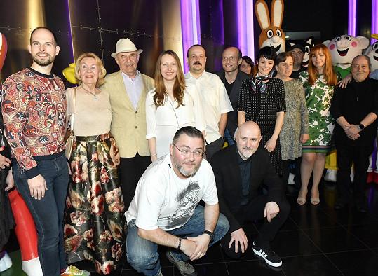 Na začátku dubna měl svoji slavnostní premiéru v pražském multikině celovečerní film Velké dobrodružství Čtyřlístku.