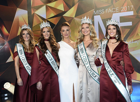 S vítězkami Miss Face Czech Republic 2017