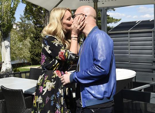 S manželem Karlem Vágnerem mají dokonalý vztah.