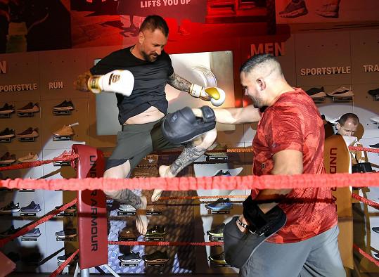 V ringu ukázal, jak to umí.