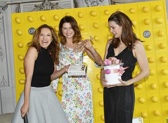 Andrea s nutriční specialistkou Gabrielou Peacock a blogerkou Evou Jasanovskou