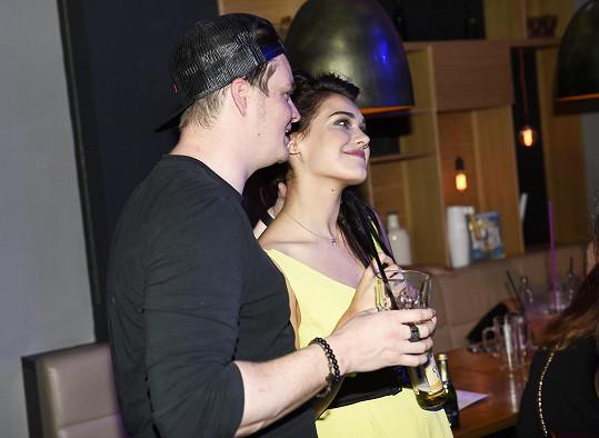 Andrea Kalousová s Kazmou chodí přes rok.