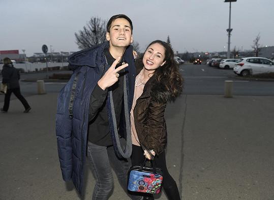 Jela vystupovat se spolužákem Tomášem na charitativní akci Hanky Kynychové.