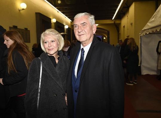 Miroslav s manželkou Zuzanou