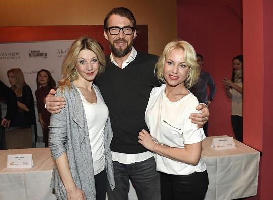 V Alence budou hrát i Bořek Slezáček, Sabina Laurinová a Martina Pártlová.