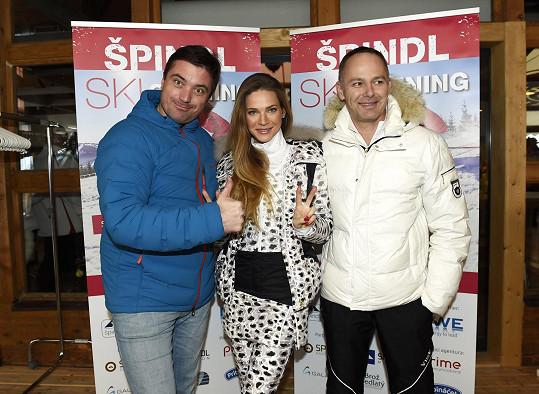 S manželem Danielem Volopichem a Igorem Rattajem