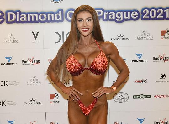Na prestižní světové soutěži Diamond Cup skončila druhá.