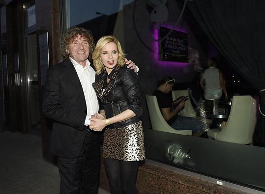 Kateřinu přivítal i český Larry Flynt, šéfredaktor Playboye Vlado Olexa.