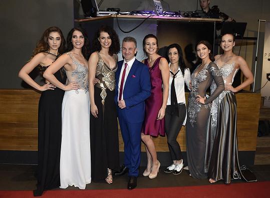 Eva a Martin s letošními vítězkami České Miss