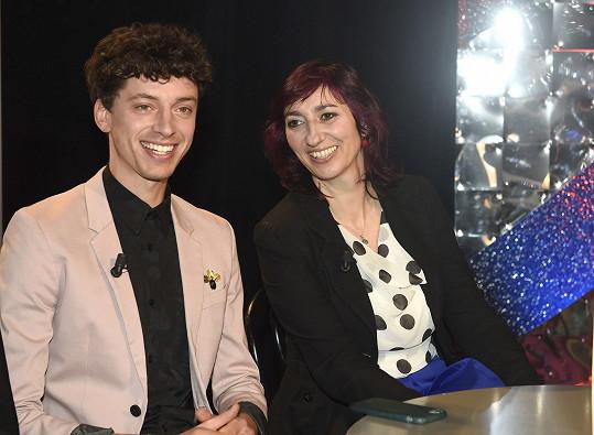 Na tiskové konferenci s kolegou Janem Cinou