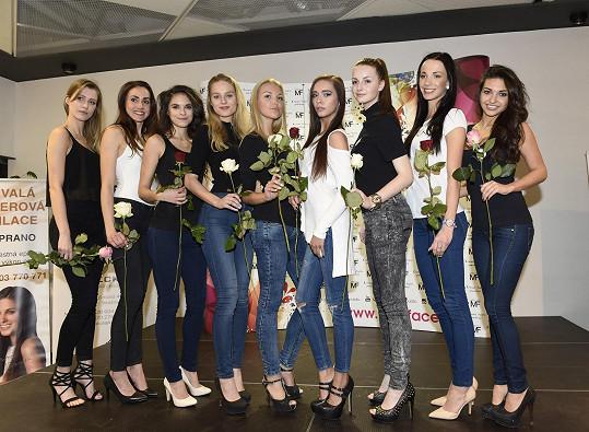 Taťána Makarenko vybrala první semifinalistky své soutěže Miss Face.