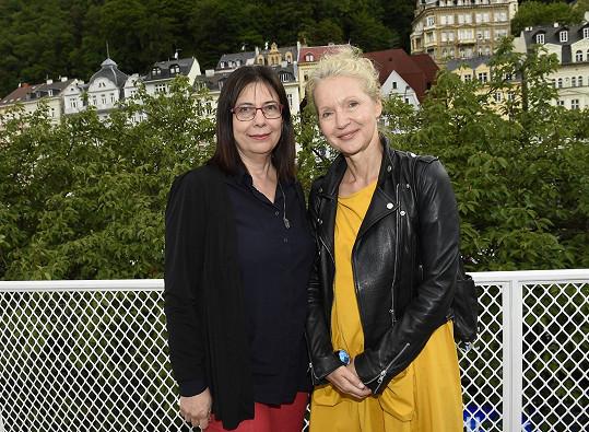 Irena s producentkou Alenou Müllerovou