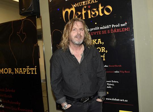 Pepa bude zpívat titulní roli v muzikálu Mefisto.