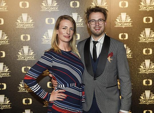Anna Polívková s Michalem Kurtišem na StarDance