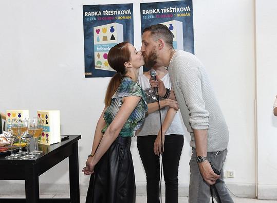 A s manželem Tomášem Třeštíkem