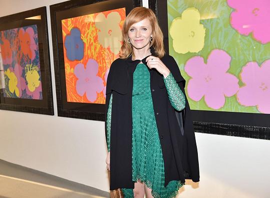 S Aňou Geislerovou jsme se potkali na výstavě Andyho Warhola.