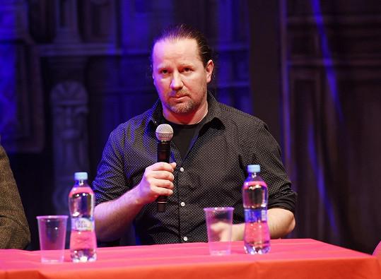 Kostýmní výtvarník Roman Šolc na tiskové konferenci