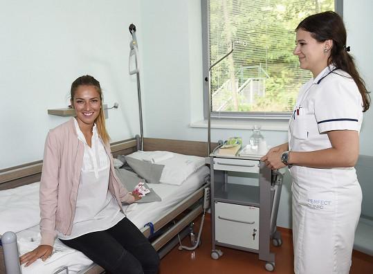 Před operací v pokoji