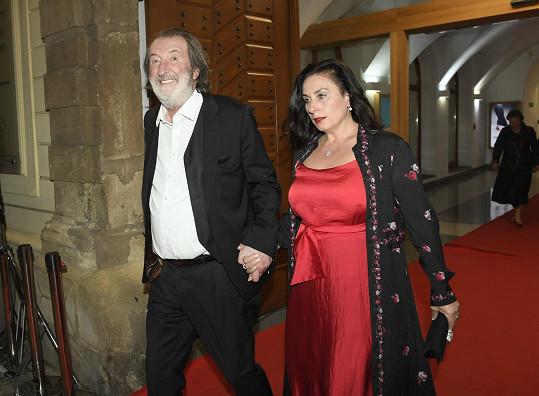 Herec Bolek Polívka s manželkou Marcelou