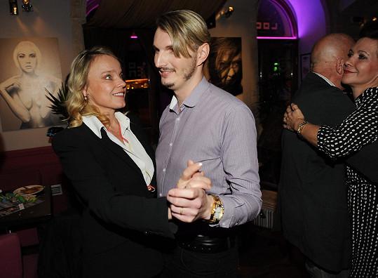 Oslavu jí uspořádal kamarád Martin Žifčák.