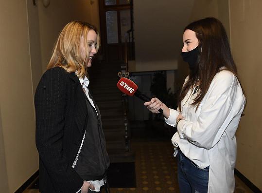 Markéta Plánková během rozhovoru pro Super.cz