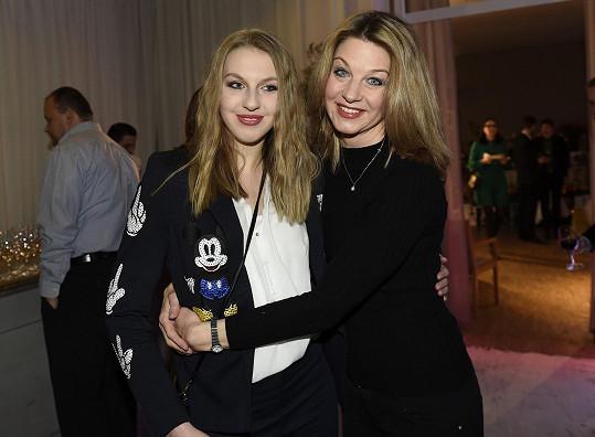 Sabina Laurinová s dcerou