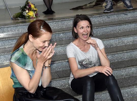 S kmotrou knihy, herečkou Klárou Melíškovou