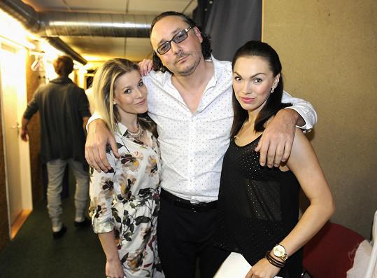 Marian Vojtko s Michaelou Gemrovou a Kamilou Nývltovou na konkursu